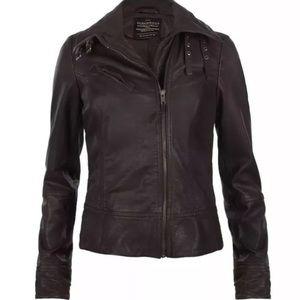 All Saints Belvedere Leather Jacket